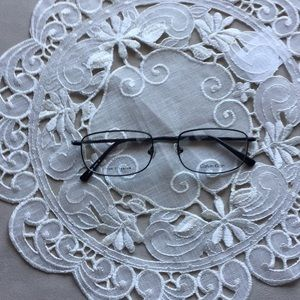 CK reading glasses with very thin oval lines